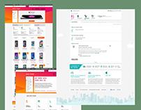 Telstra Shop DataPacks - UX Interaction Design