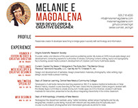 Personal Resume Designs