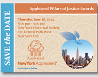 2015 New York Appleseed Pillars of Justice Awards