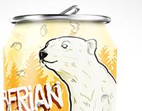 Chiberian Warmer beer label