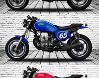 MOTO GUZZI V65 LARIO CR Studies