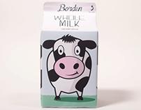 Borden Milk Branding/Identity
