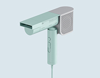 HIFIVE / Hair dryer, Product design