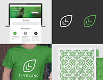 Liveland Festival | Rebranding & Web interface