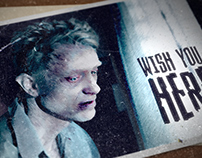 Wish You Here: Short film Titles and Poster