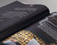 Magazine design for Harmony Polish Hotels