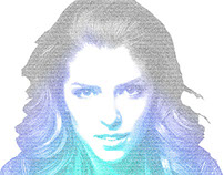 Anna Kendrick: Many Faces of Type Collection