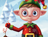 Elf Digital Painting for WacomWinter Contest