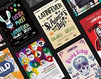 Social media and printed arts.
