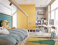 "Smart apartment interior. Kyiv.RC ""Comfort Town.51 sq m"