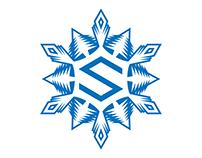 SNEG - Logo for a post-apocalyptic game.