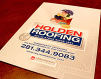 Holden Roofing 16 Page Corporate Brochure Folder