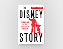 """The Disney Story"" Book Cover Design"