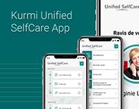 [Design application mobile] - Kurmi Unified SelfCare