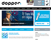 Dopper website design 2011