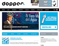 Dopper website design 2011