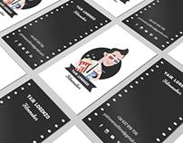 Diseño de avatar y tarjetas para Yair Lorenzo Filmmaker