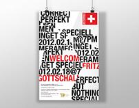 Fritz Gottschalk | Poster Design