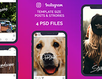 FREE Instagram Images Sizes Template