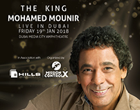 Mohamed Mounir flyer Design