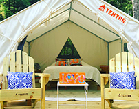 Topo Pino Glamping | Caitlin Crowe