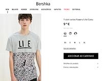 Basic t-shirt / Bershka man