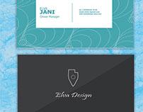 Card Business in process for Elva Studio ..