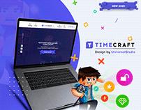 Разработка Веб-дизайна для TimeCraft!