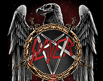 Tshirt design for SLAYER