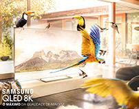 QLED 8k - Advertising Photo Manipulation