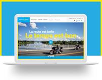 Tourism Centre-du-Québec Website Design