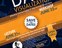 Data Visualization workshop poster and website