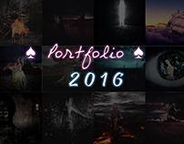 2016 ♠️ Portfolio ♠️