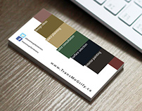 TransMoGrify Interiors Business Card