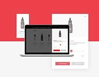 Vape Shop Web Design