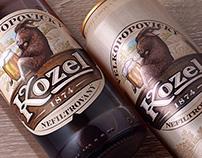 Re-design Velkopopovicky Kozel Nefiltrovany