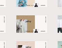 Yelvy - Fashion Website