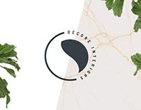 Logo for DeCore Interiors - Interior Design Studio