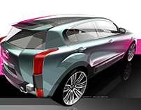 Qoros 2 PHEV Concept 2015