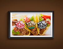 Food Truck Tacos Logo