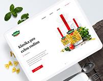 Panzani.cz – responsive website