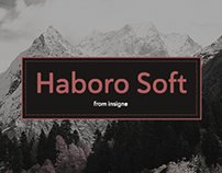 Haboro Soft. Elegant, clean, simple, soft.