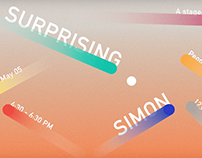 Surprising Simon Poster