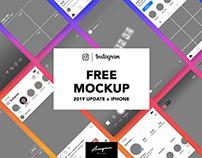 Free Instagram Mockup 2019