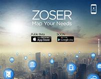 Social Media / Zoser App