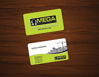 Constructions Services Business Card