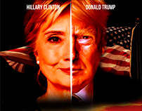 Hilarious Movie Poster ft. Hillary Clinton&Donald Trump