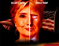 Hilarious Movie Poster ft. Hillary Clinton&Donald Trump