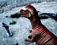 Dinosaurs Battle