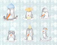 Antonio, el pingüino.